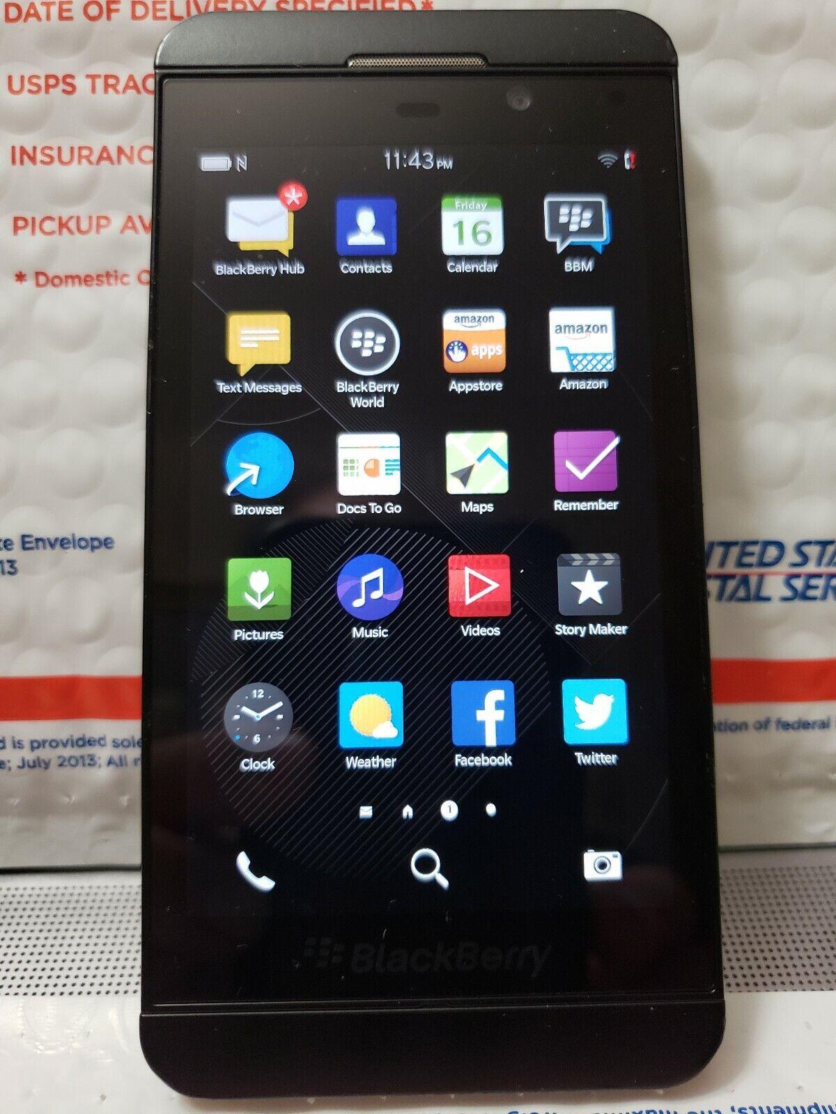 BlackBerry Z10 - 16GB - Black (Unlocked) Smartphone