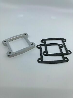 "Yamaha Blaster YFS200 Intake Reed Spacer Billet Manifold 1//2/"" with 2 New Gaskets"