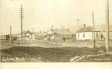 STREET SCENE, 1910, LEBAM, WASHINGTON, RPPC, VINTAGE POSTCARD