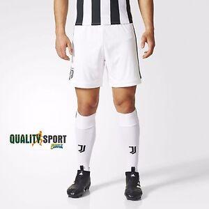 Dettagli su Adidas Short Home Juventus Pantaloncino Bianco Uomo Originale AZ8701 201718