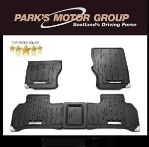 Genuine-All-New-Range-Rover-Rubber-Footwell-Mats-VPLGS0149