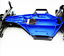 Pour-Traxxas-1-10-Controle-Radio-Voiture-mise-a-niveau-Slash-2wd-Galaxie-compacte-lumineuse-chassis miniature 3