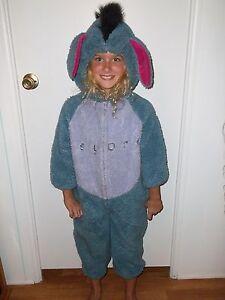 Image is loading Disney-Store-Eeyore-Halloween-Costume-Size-4T-to- 3f73d193b