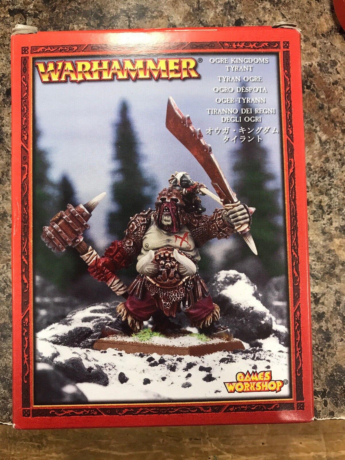 GW Warhammer Ogre Kingdoms Tyrant 95-11 NEW