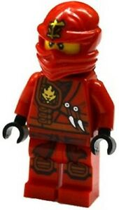 Lego Ninjago Minifigure Jungle Kai with Golden Swords Minifig Figure 70745,70750