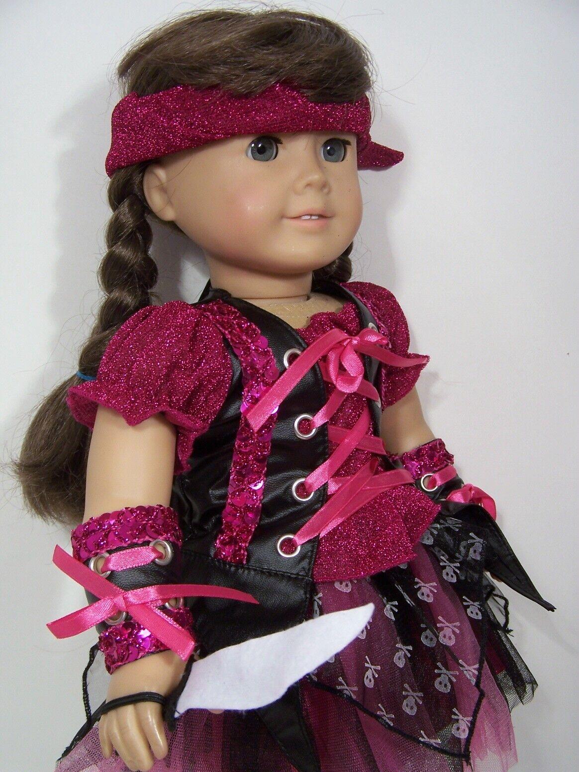 "Furry Eskimo 4pc Costume w Bag for American Girl 18/"" Doll Clothes Lovv Lovvbugg!"