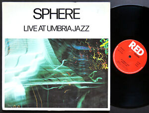 SPHERE-Live-At-Umbria-Jazz-LP-RED-NS-207-ITALY-039-86-Charlie-Rouse-Buster-Williams