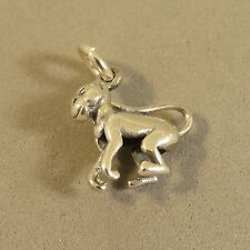 .925 Sterling Silver 3-D MONKEY CHARM NEW Pendant 925 AN95