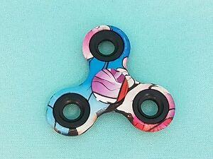 Fidget-detraque-Colore-Print-doigt-main-toupie-ADHS-EDC-anti-stress-Spinnerz
