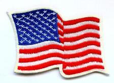 Aufnäher USA FahnePatch Waving Flag Stars & Stripes bügelbar