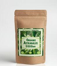 Organic Astragalus Capsules 5000mg High Strength Vegan Natural Extract Formula