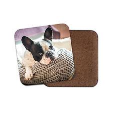 Dog Pink Rose Love Cute Girls Gift #8715 French Bulldog Puppy Fridge Magnet