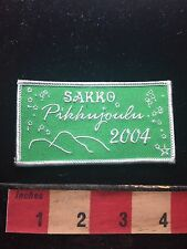 Patch Sakko Pikkoujoulu (? Little Christmas Snow Ski Finnish ???) 60Z5