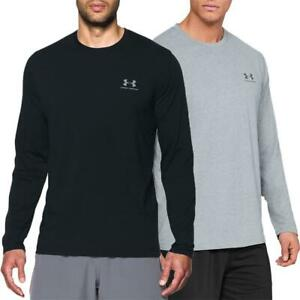 Under-Armour-UA-Sportstyle-Left-Chest-LS-Tee-Top-Langarmshirt-Fitness-Longsleeve