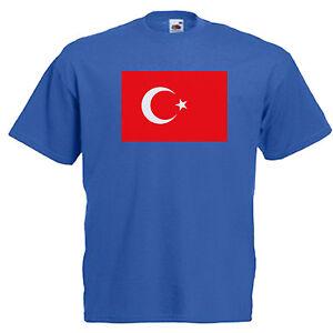 Turkey Kid/'s T-Shirt Country Flag Map Top Children Boys Girls Unisex Turkish