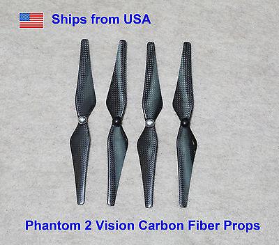 9443 Self Tightening Carbon Fiber Propeller Set of 4 DJI Phantom 2 Vision+ FC40