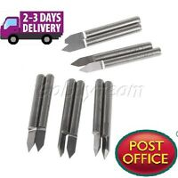 5Pcs 60 Degree 0.2mm Carbide Engraving Bits CNC Router Tool for PCB board