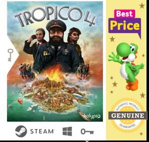 Tropico 4 - Steam Key 🔑 Region Free ✔