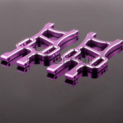 Aluminum Front Lower Suspension Arm 108019 HSP 1//10 RC CAR 08005 Upgrade Part