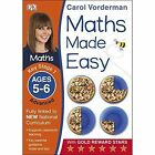 Maths Made Easy Ages 5-6 Key Stage 1 Advanced by Carol Vorderman (Paperback, 2014)