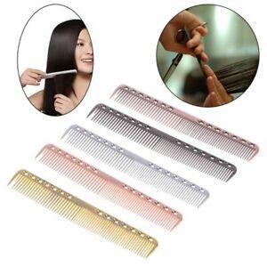Men-Women-Aluminum-Metal-Cutting-Comb-Hair-Hairdressing-amp-Barbers-Salon-Combs
