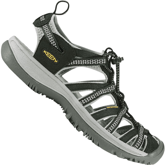 1323198e2376 KEEN Whisper Women US 6 Black Sport Sandal 3390 for sale online