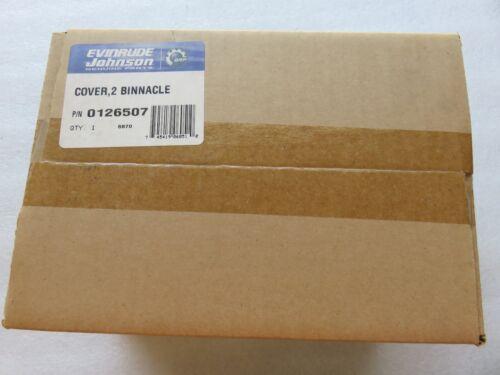 M19 New BRP Johnson Evinrude 126507-2 BINNACLE COVER Marine Part OEM