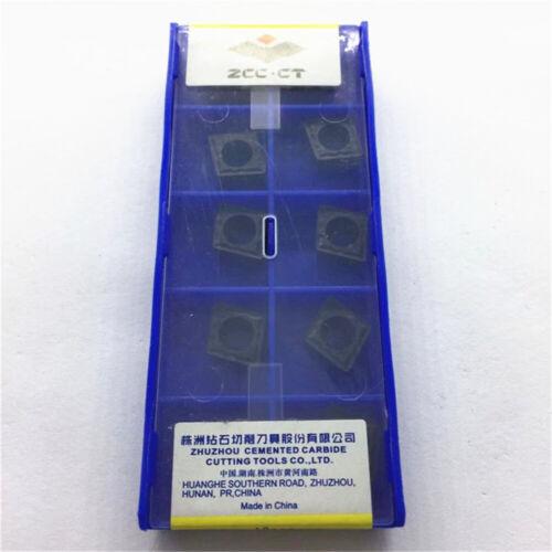 2.5 ZCC.CT CCMT09T308-HM YBC252 CCMT3 10pcs 2-HM Carbide Inserts 1pack