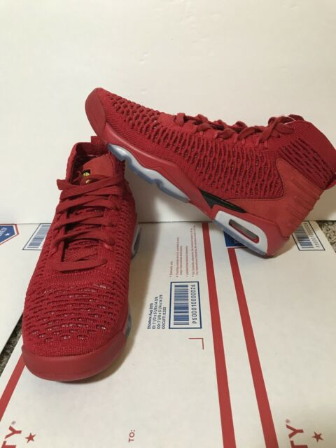 Jordan Flyknit Elevation 23 BG Basketball Shoes Size 6 Youth Red Ao1538-601