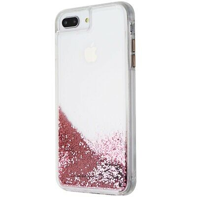 Case Mate Waterfall Liquid Glitter Case For Iphone 8 Plus And 7 Plus Rose Gold 846127176743 Ebay