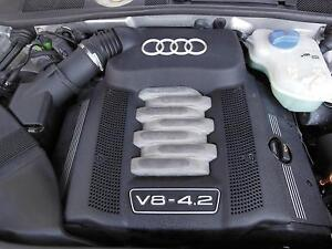 AUDI A ENGINE MOTOR LTR CODE ASG PETROL V QUATTRO - Audi v8