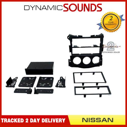 CT24NS08 Matt Negro Simple O Doble Din Fascia Panel Para Nissan 370z 2009 />