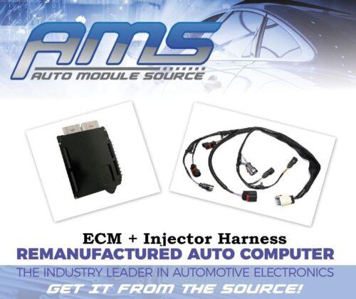 2002 DODGE CARAVAN Engine Computer Module ECM PCM PCU ECU /& INJECTOR HARNESS