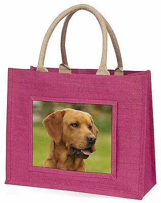 Roter Fuchs Labrador Große Rosa Einkaufstasche Weihnachten Geschenkidee,