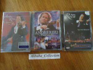 Lote-3-DVD-Andre-Rieu-Concierto-Violin-Live-Monde-Veces-Nuevo-York