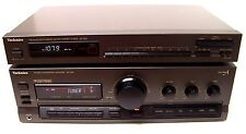 Technics SU-G91 Amplifier with ST-K50 Quartz AM/FM Tuner Made in Japan & Tested!
