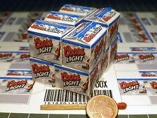 "10 cajas ""Beer"" en 1:24-1:25 para diorama, tren de ranura, enormemente, taller"