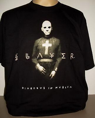 Slayer Diabolus In Musica T-Shirt Size 3XL XXXL Thrash Metal Band new!