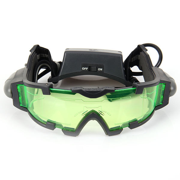 Brand New JYW-1312 Night Vision Glasses Goggles Adjustable With Lights