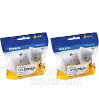 2 Aqueon Size Small Replacement Filter 6 Packs 12 Cartridges Minibow Aquarium