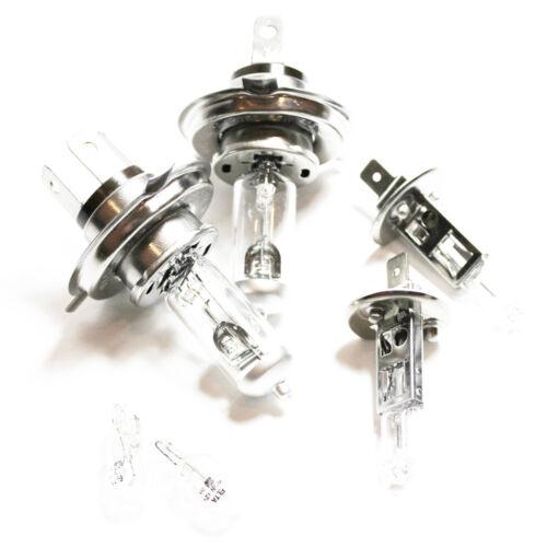 Vauxhall Vivaro 55w Clear Xenon HID High//Low//Fog//Side Headlight Bulbs Set
