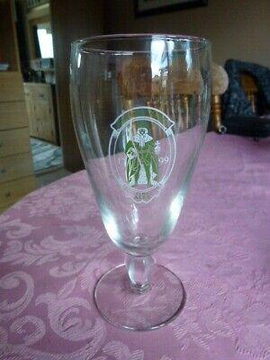 "GREENE KING /"" FINE ALES 1799  /"" HALF PINT GOBLET  GLASS.UNUSED"