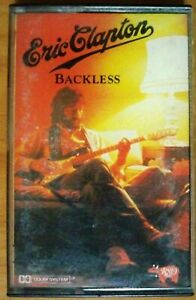Backless-Eric-Clapton-Cassette-Tape