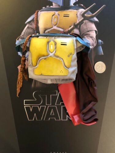 Hot Toys Star Wars Animated Boba Fett Body Armour /& Cape loose 1//6th scale