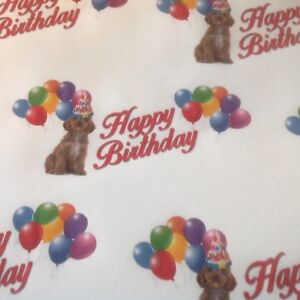 Image Is Loading COCKAPOO BIRTHDAY GIFT WRAPPING PAPER PETS DOGS MUM