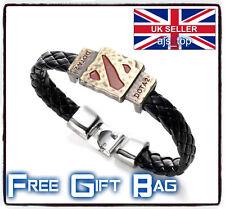 Dota2 Wristband Alloy Leather Cosplay Bracelet LoL Steam
