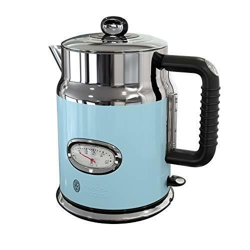 Russell Hobbs KE5550BLR Retro Style Electric Kettle, 1.7L, bluee FREE2DAYSHIP