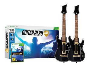 Guitar Hero - Live inkl. 2x Gitarre für XBOX 360 | Bundle | NEUWARE
