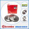 Brembo 08.A147.11 OE Quality Rear Brake Discs 260mm Solid Honda Civic MK7 FD