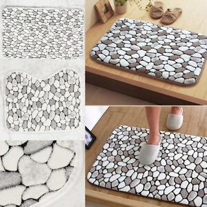 Bath-Pedestal-Mat-Set-of-2-Soft-Cotton-Toilet-Non-Slip-Washable-Floor-Rugs-UK